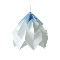 Moth XL Lamp - Gradient Blue | General lighting | Studio Snowpuppe