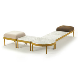 Design modular seating systems on architonic for Chaise longue halle