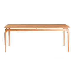 Dining Table 190 cm Oak Top | Tavoli da pranzo | Red Edition