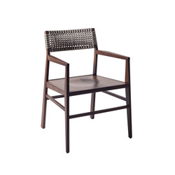 Aruba chair with ash structure armrests | Chairs | Varaschin