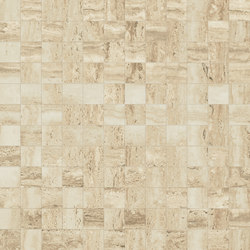 Prestigio Travertino Lucido Mosaico | Floor tiles | Refin