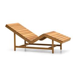 Barcode relax lounger | Sun loungers | Varaschin