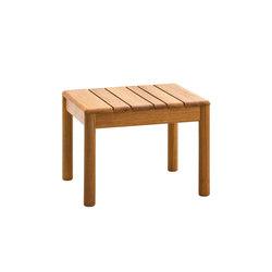 Barcode teak spa table | Side tables | Varaschin