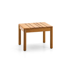 Barcode side table | Mesas auxiliares de jardín | Varaschin