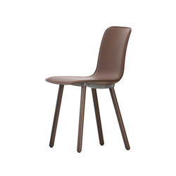 HAL Leather Wood | Visitors chairs / Side chairs | Vitra