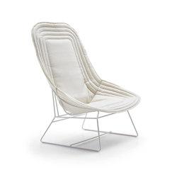 Chapeau bergere | Garden armchairs | Varaschin