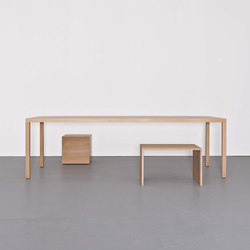 DINANULL table | Escritorios individuales | Sanktjohanser