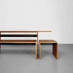 FORMAT bench | Restaurant tables and benches | Sanktjohanser