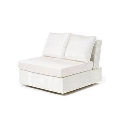 Domino garden armchair | Garden armchairs | Varaschin