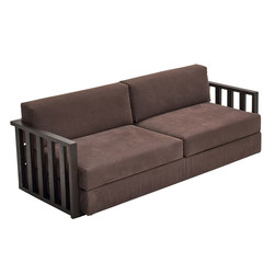 Dorsoduro wooden designer couch | Canapés d'attente | Varaschin