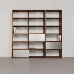 DASREGAL customized shelf- and sideboardsystem | Library shelving systems | Sanktjohanser