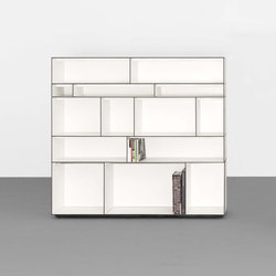 DIGITAL modular sideboard- and shelfsystem | Library shelving systems | Sanktjohanser
