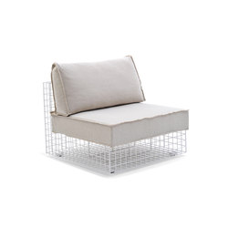 Grid urban style chair | Gartensessel | Varaschin