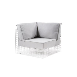 Grid  urban style armchair | Gartensessel | Varaschin