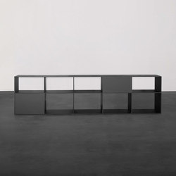 TEKTUR customized shelf- and sideboardsystem | Separadores de ambientes | Sanktjohanser