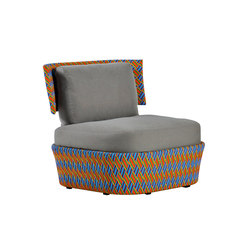 Kente design outdoor chair | Garden armchairs | Varaschin