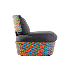 Kente lounge chair | Garden armchairs | Varaschin