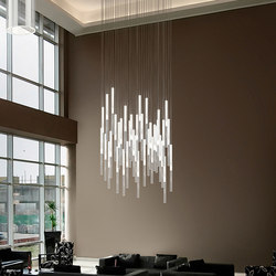 Candle | Suspended lights | Panzeri