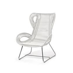 Loop poltrona bergére da giardino | Garden armchairs | Varaschin