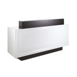 Jadesk I GAMMASTORE Salon Reception Desk | Counters | GAMMA & BROSS