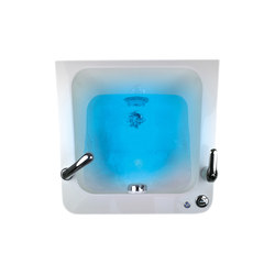 Streamline Basis Pipeless Chrome | SPALOGIC Lavabo Pédicurage | Bien-être accessoires  | GAMMA & BROSS