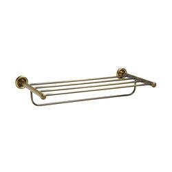Windsor Towel Rack Shelf | Shelves | pom d'or