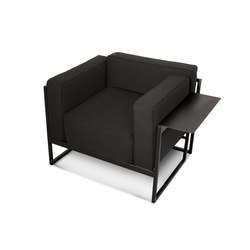 Kirk | Lounge chairs | Trabà