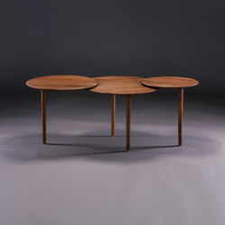 Triple Coffee Table | Mesas de centro | Artisan