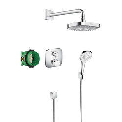 Hansgrohe Croma Select E Design ShowerSet Croma Select E / Ecostat E | Bathrooms taps accessories | Hansgrohe
