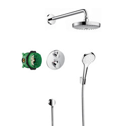 Hansgrohe Croma Select S Design ShowerSet Croma Select S / Ecostat S | Bathroom taps accessories | Hansgrohe