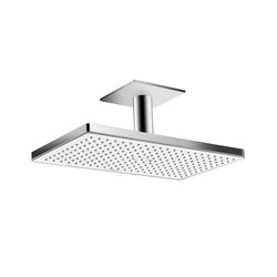 Hansgrohe Rainmaker Select 460 1jet overhead shower with ceiling connector 100 mm | Shower taps / mixers | Hansgrohe