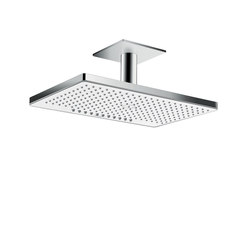 hansgrohe Rainmaker Select 460 2jet overhead shower with ceiling connector 100 mm | Shower taps / mixers | Hansgrohe