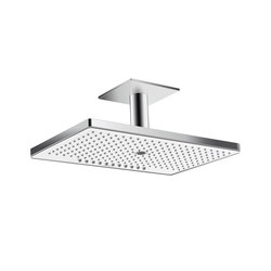 Hansgrohe Rainmaker Select 460 3jet overhead shower with ceiling connector 100 mm | Shower taps / mixers | Hansgrohe