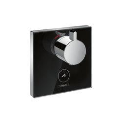 Hansgrohe ShowerSelect glass, Set esterno termostatico ad incasso ad alta portata | Rubinetteria doccia | Hansgrohe