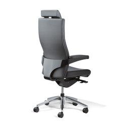 Toro Swivel Armchair | Management chairs | viasit