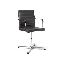 Pure Conference Chair Low Backrest | Sedie conferenza | viasit