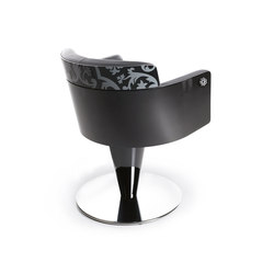 Aida Wood | MG BROSS Styling Salon Chair | Barber chairs | GAMMA & BROSS