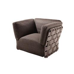 Obi armchair | Garden armchairs | Varaschin