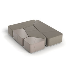 Organic Office Lounge Modules | Seating islands | viasit