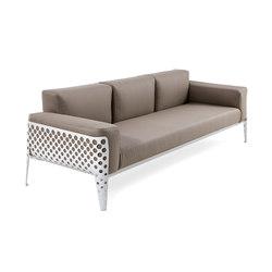 Pois sofa 3p | Gartensofas | Varaschin