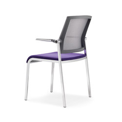 Scope Four legs | Visitors chairs / Side chairs | viasit