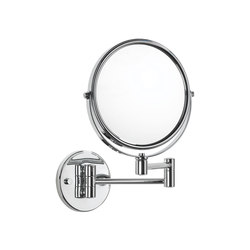 Easy Living Free Standing Magnifying Mirror (x3) | Shaving mirrors | pomd'or