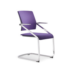 Scope Cantilever Chair | Visitors chairs / Side chairs | viasit