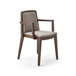 Sidney chair with armrests | Sièges visiteurs / d'appoint | Varaschin