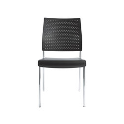 Qubo Four legged chair | Sillas de visita | viasit