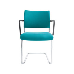Qubo Cantilever chair | Visitors chairs / Side chairs | viasit