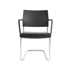 Qubo Cantilever chair | Chairs | Viasit
