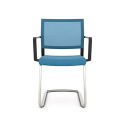 Impulse Cantilever chair | Visitors chairs / Side chairs | viasit