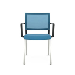 Impulse Four Legs | Visitors chairs / Side chairs | viasit