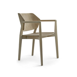 Turtle chair with armrests | Sièges visiteurs / d'appoint | Varaschin